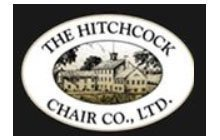 hitchcock chair logo